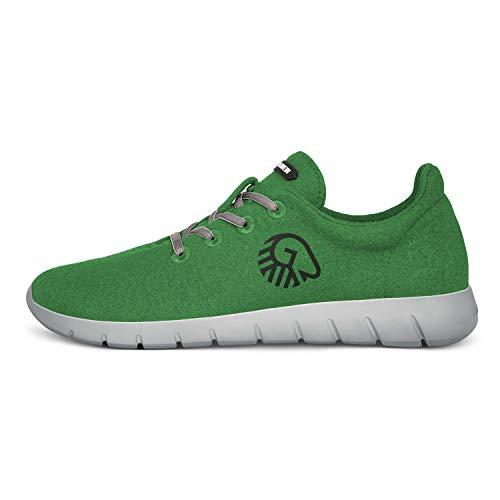 GIESSWEIN - Merino Runners Men, Atmungsaktive Sneaker für Herren aus 100% Merino Wolle, Sportliche Schuhe, Halbschuh, Freizeitschuh, Herrenschuhe