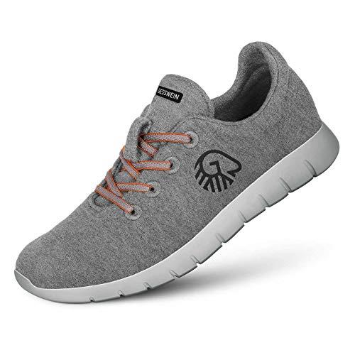 Giesswein Woll-Sneaker Merino Runners Men - Atmungsaktiv, gegen vermehrte Schweißbildung