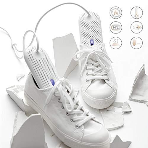 LHJXXKQ Tragbare Schuhtrockner Deodorant Gerät Elektrische Schuh Stiefel Trockner Wärmer Entfernen Feuchtigkeitstrockner Intelligent Timing 360 ° Trocknungs Konstante Temperatur Heizung